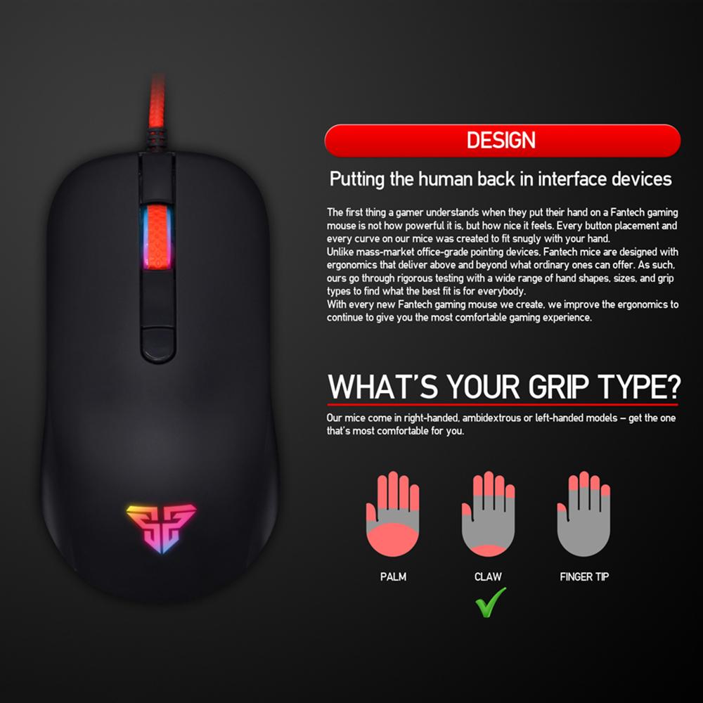 Fantech RHASTA G10 Gaming Mouse – Neptronics